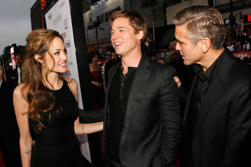 angelina jolie brad pitt george clooney