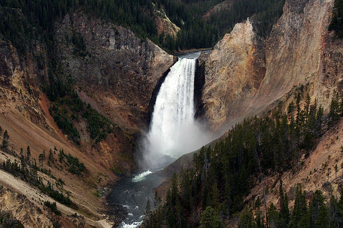 grand canyon yellowstone national park