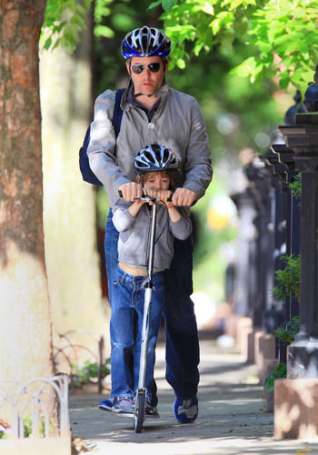 matthew broderick with son james wilkie