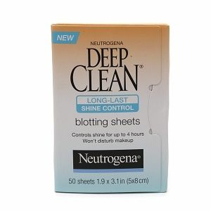 Neutrogena Deep Clean blotting sheets