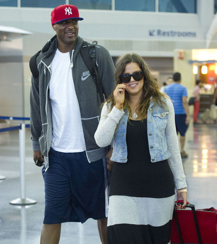 Khloe Kardashian &amp; Lamar Odom