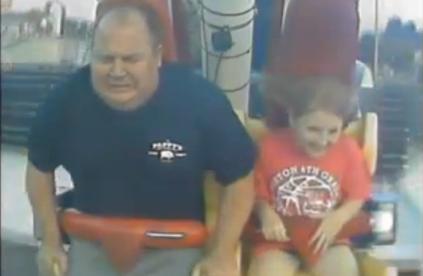 dad daughter ride