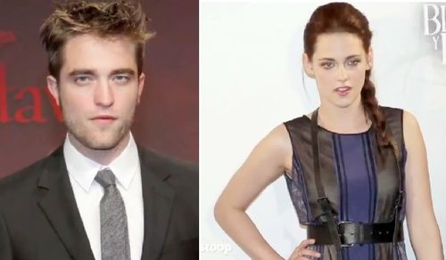 Kristen Stewart &amp; Robert Pattinson in '50 Shades of Grey'