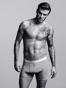 David Beckham underwear ad