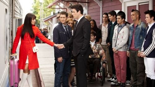 season finale glee finn and rachel