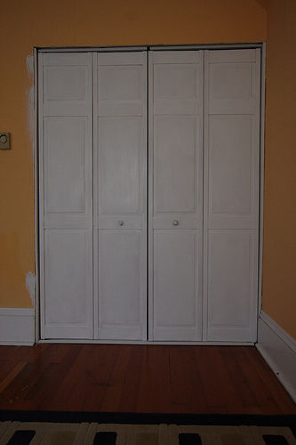 closet door