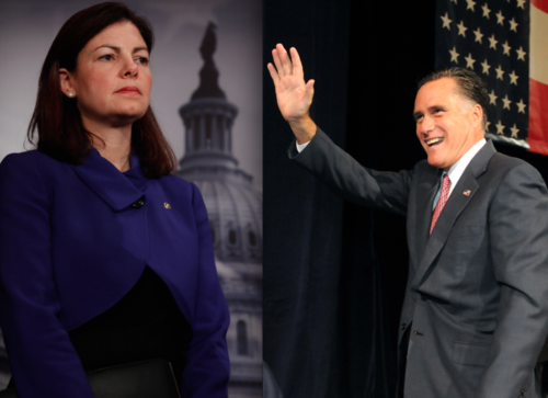 kelly Ayotte and mitt romney