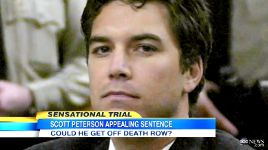Scott Peterson Beaten in Prison http://thestir.cafemom.com/in_the_news/140066/scott_peterson_appeals_death_sentence