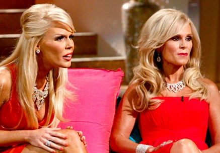 Gretchen Rossi and Tamra Barney