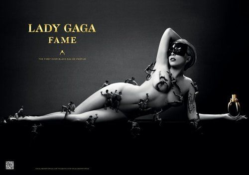 lady gaga ad for the fame perfume