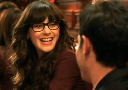 jess on new girl zooey deschanel
