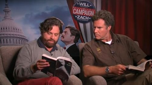 Will Ferrell Zach Galifianakis Fifty Shades