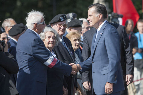 Romney in Poland