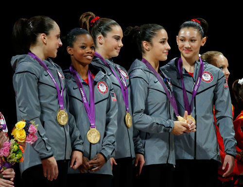 us gymnastics team