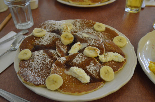 banana pancakes