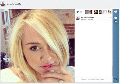 Miley Cyrus Rachel haircut