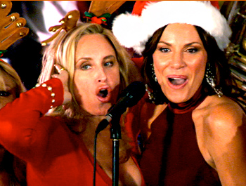 Sonja Morgan and LuAnn de Lesseps