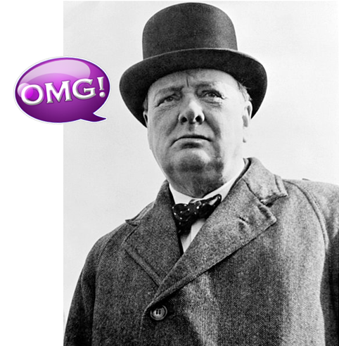 omg winston churchill