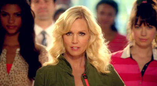 jennie garth old navy commercial