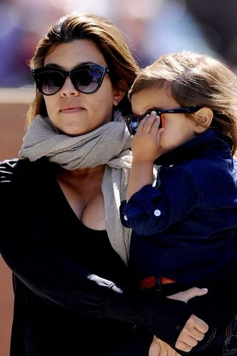 Kourtney Kardashian &amp; Mason Disick