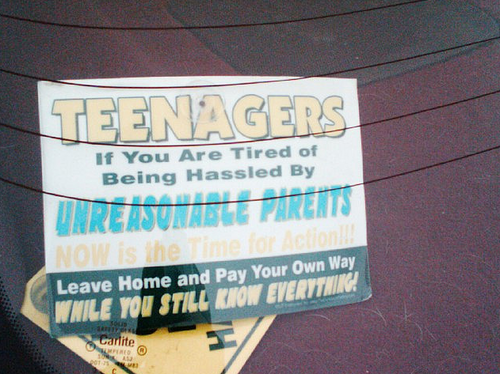 teenagers