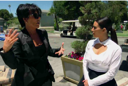 Kris Jenner and Kim Kardashian