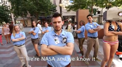 nasa sexy and i know it