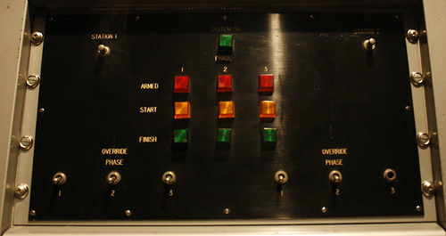 lethal injection control panel