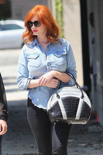 Christina Hendricks Carries $24,980 purse