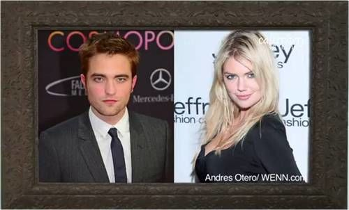 robert pattinson and kate upton