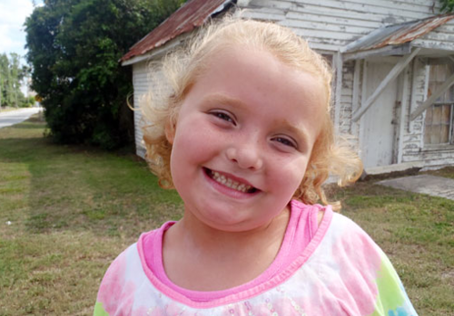 Honey Boo Boo Alana Thompson