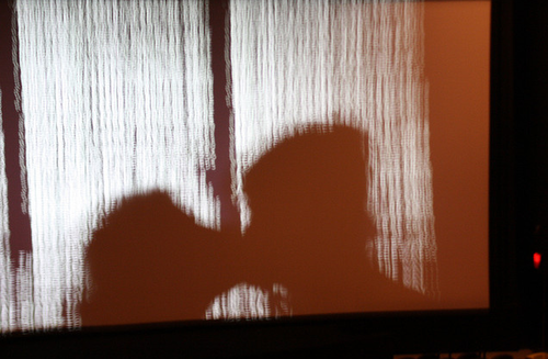 kissing shadow