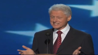 Bill Clinton DNC speech 2012
