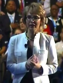 Gabrielle Giffords Recites 'Pledge of Allegiance'