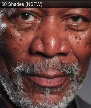 Morgan Freeman reads Fifty Shades of Grey