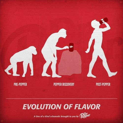 dr. pepper evolution ad