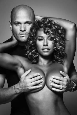 mel b. topless for coppa feel campaign