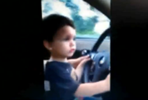 boy driving