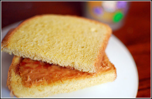 peanut butter sandwich