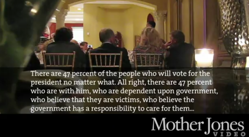 mother jones still from romney video