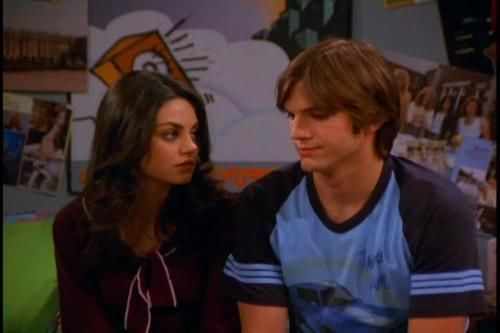 mila kunis ashton kutcher on 'that 70s show'