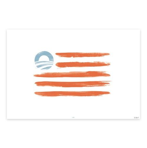 our stripes: our flag screen print obama store