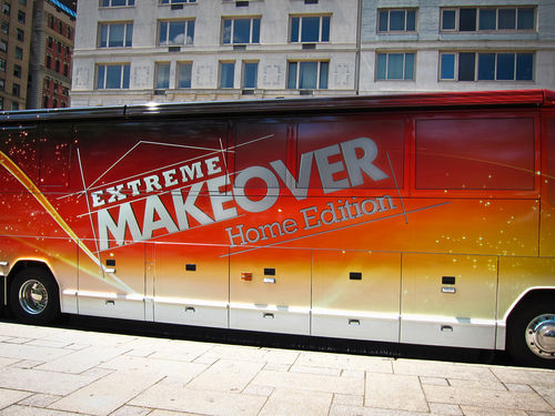 Extreme Makeover Home bus