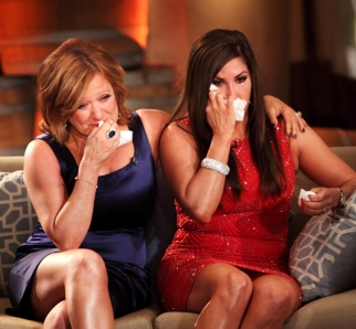 Caroline Manzo and Jacqueline Laurita
