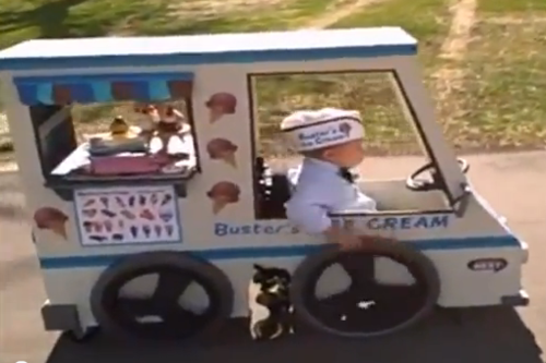 Ice Cream Truck Costume