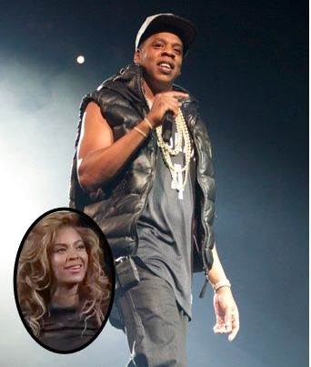 Jay Z and Beyonce perform at the Barclay Center