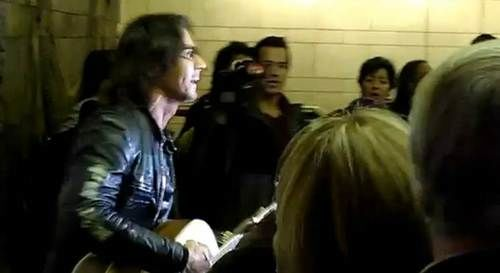 Rick Springfield and subway