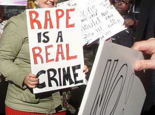 Rape is a real crime