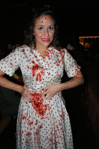 bloody halloween costume