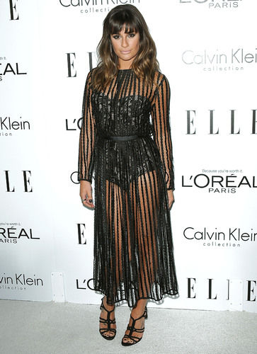 Lea Michele at ELLE's 19th Annual Women in Hollywood Celebration